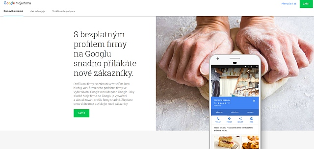 Zaregistrujte web do Google my business